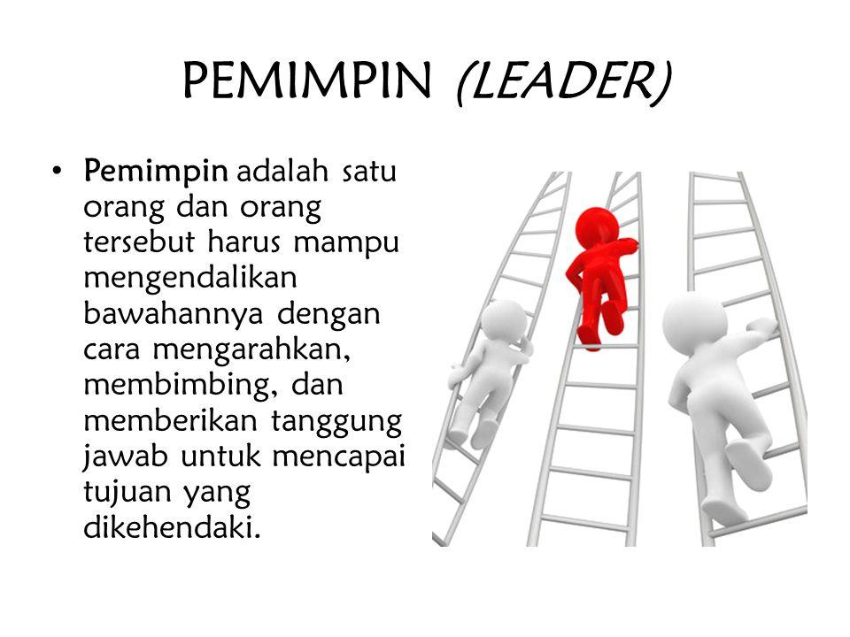 PEMIMPIN (LEADER)