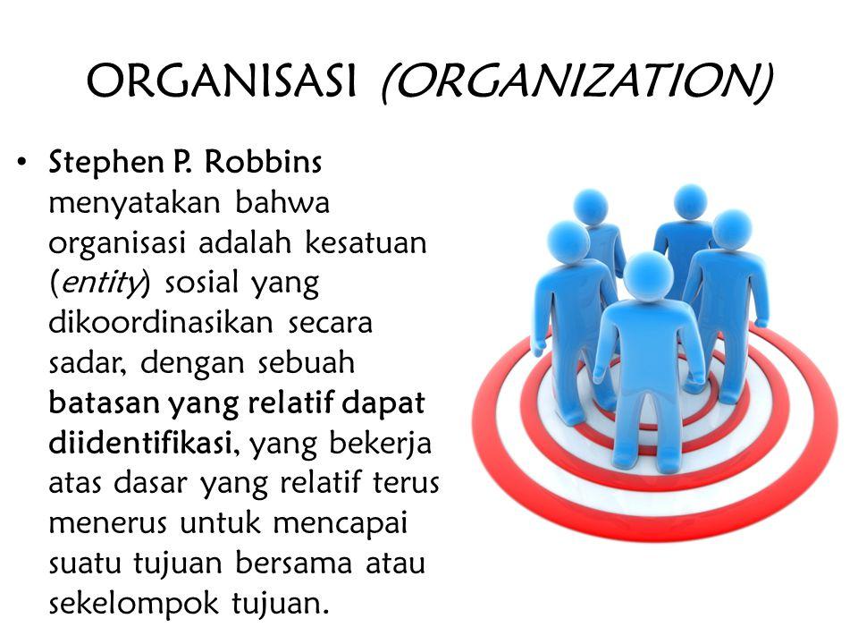 ORGANISASI (ORGANIZATION)