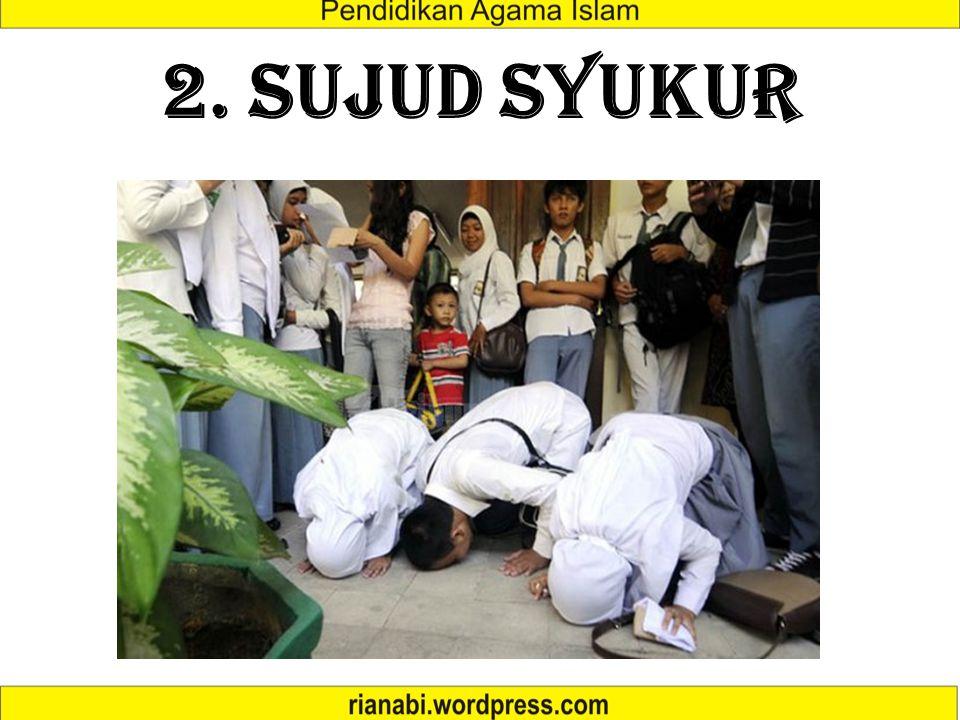 2. SUJUD SYUKUR