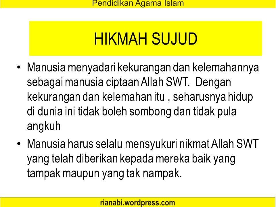 HIKMAH SUJUD