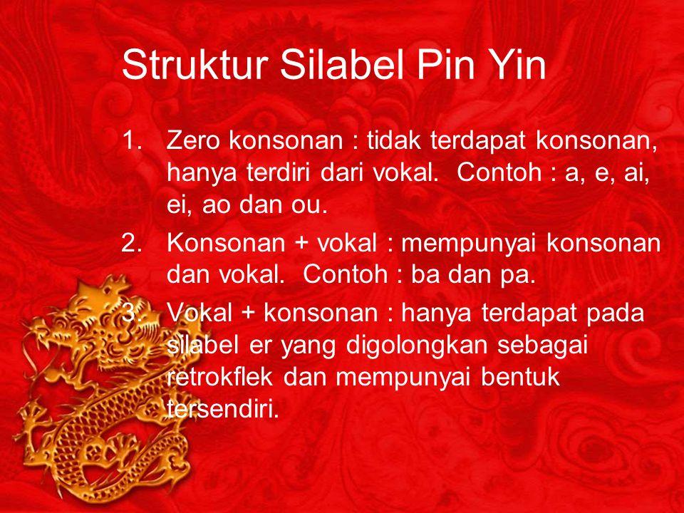 Struktur Silabel Pin Yin
