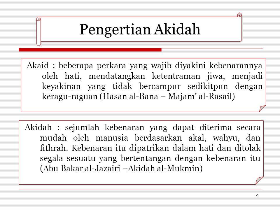 Pengertian Akidah