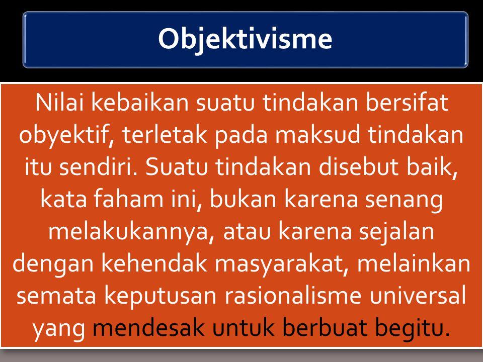 Objektivisme