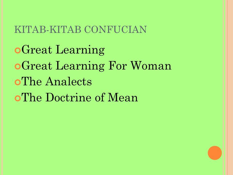 KITAB-KITAB CONFUCIAN