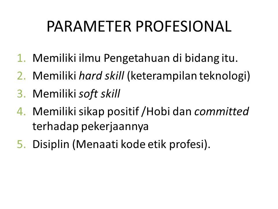 PARAMETER PROFESIONAL