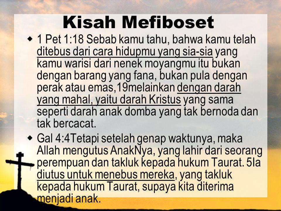 Kisah Mefiboset