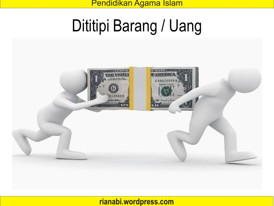 Dititipi Barang / Uang