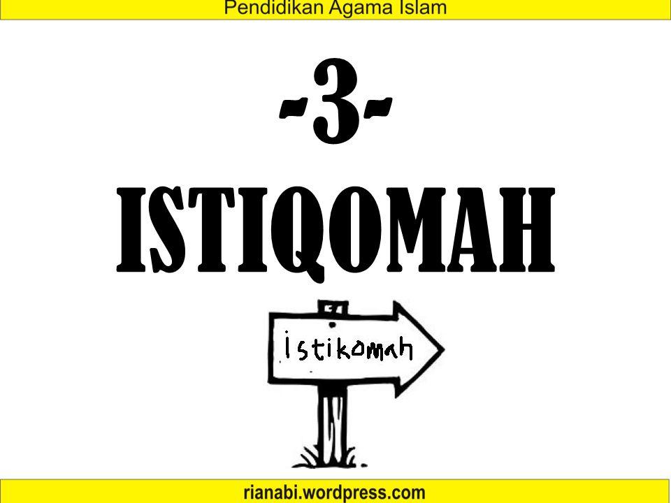 -3-ISTIQOMAH