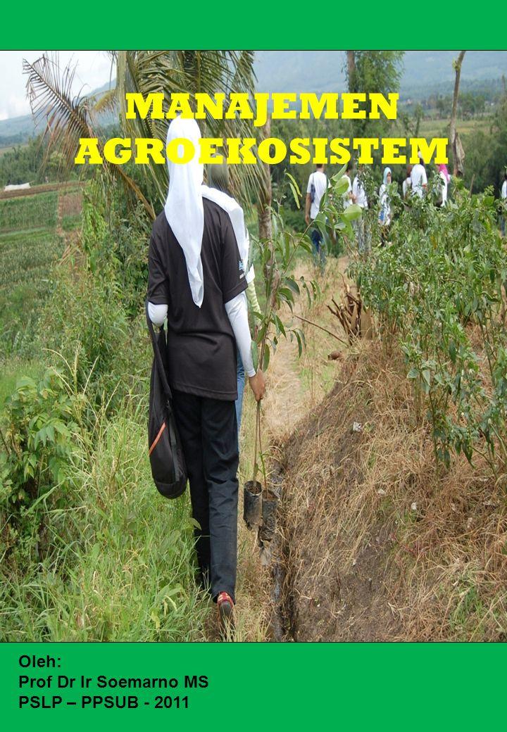 MANAJEMEN AGROEKOSISTEM