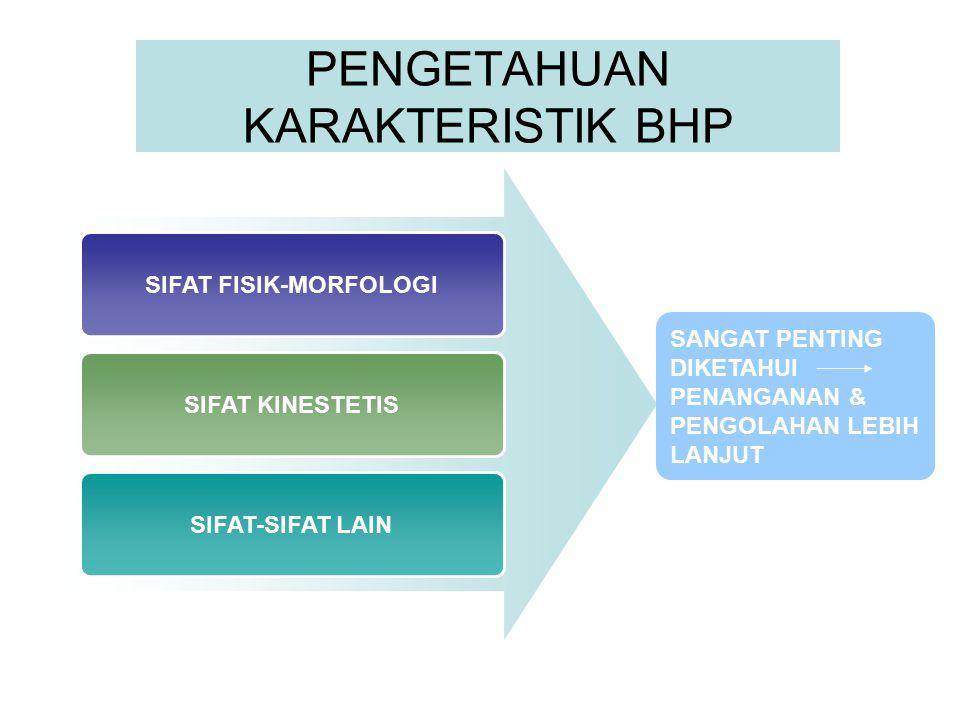 PENGETAHUAN KARAKTERISTIK BHP