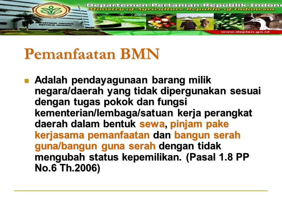 Pemanfaatan BMN