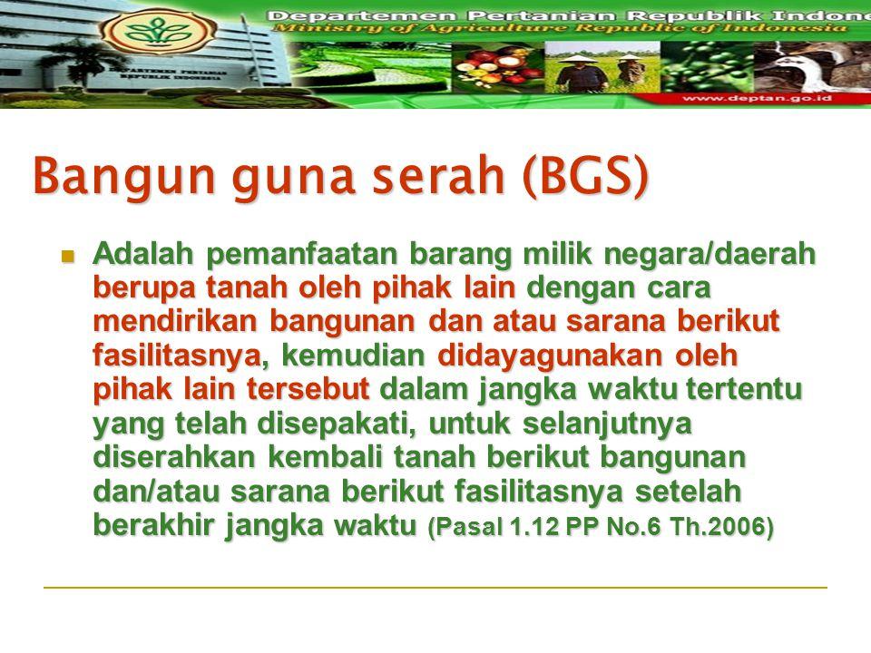 Bangun guna serah (BGS)