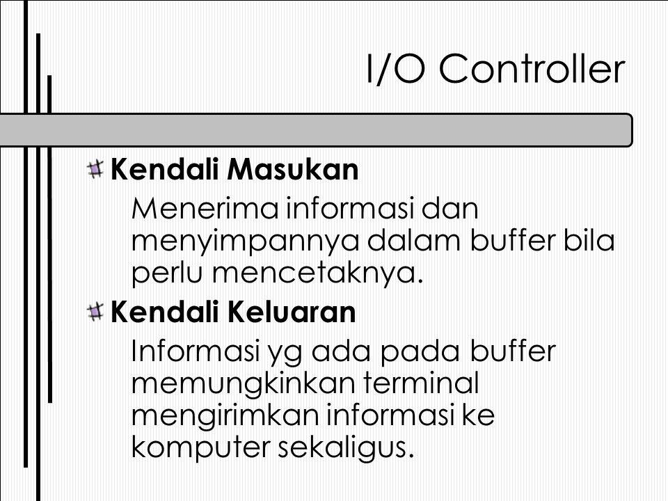 I/O Controller Kendali Masukan