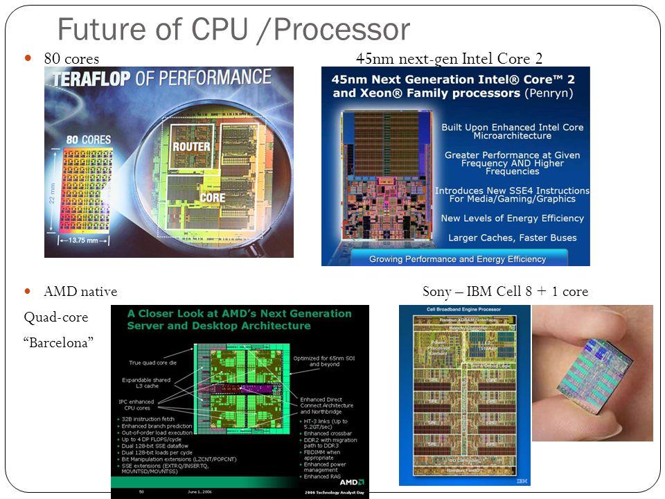 Future of CPU /Processor