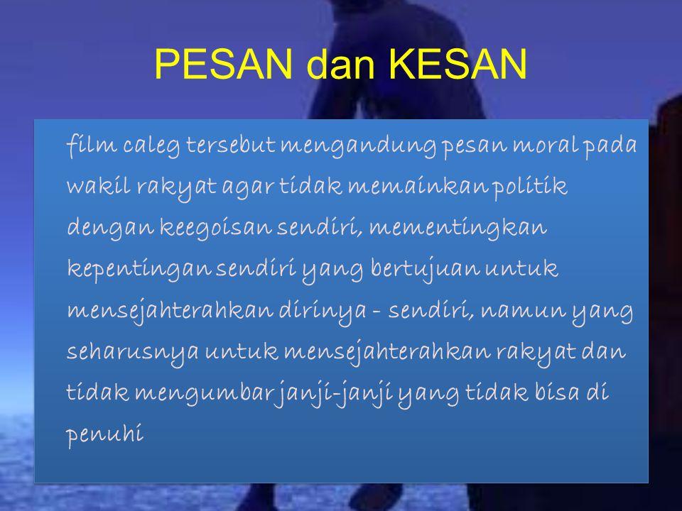 PESAN dan KESAN