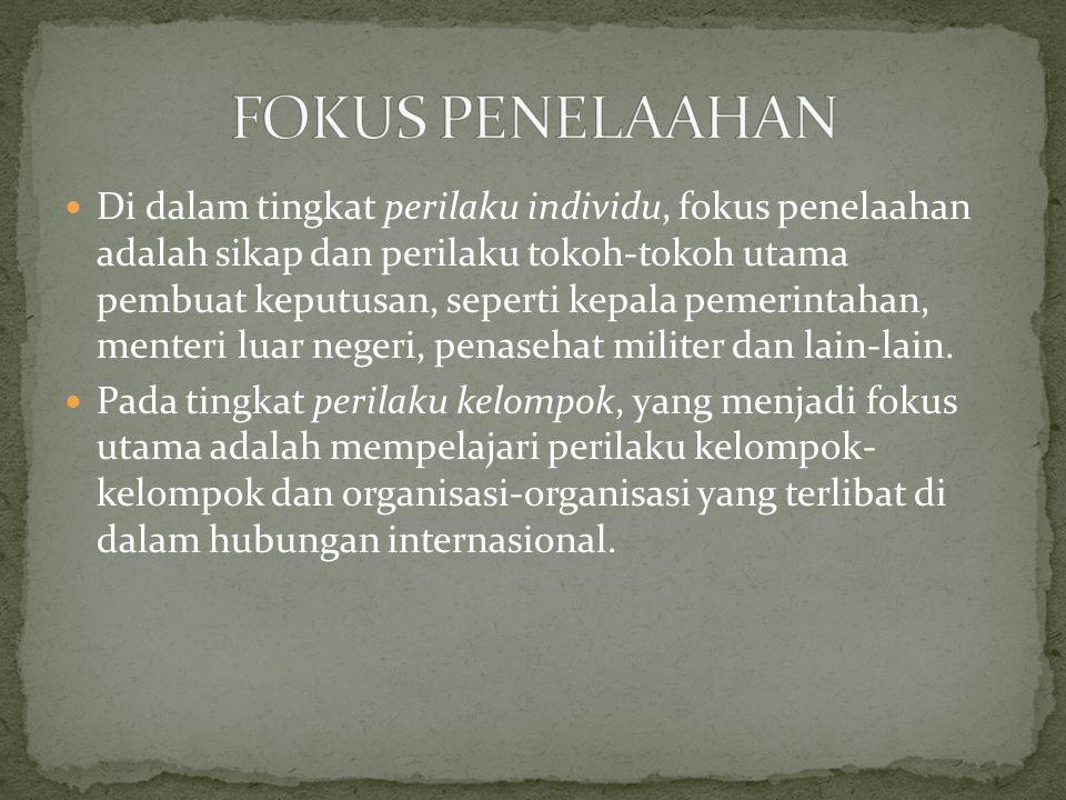 FOKUS PENELAAHAN