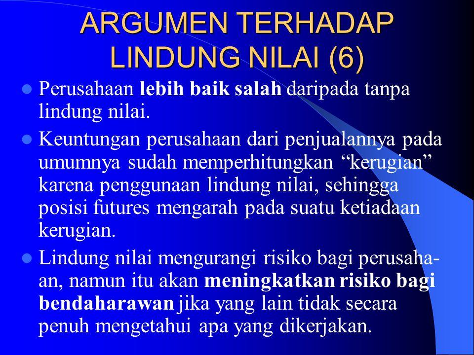 ARGUMEN TERHADAP LINDUNG NILAI (6)