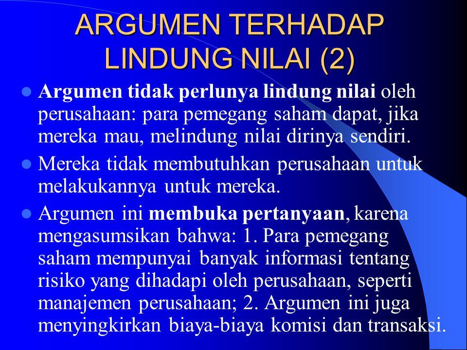 ARGUMEN TERHADAP LINDUNG NILAI (2)