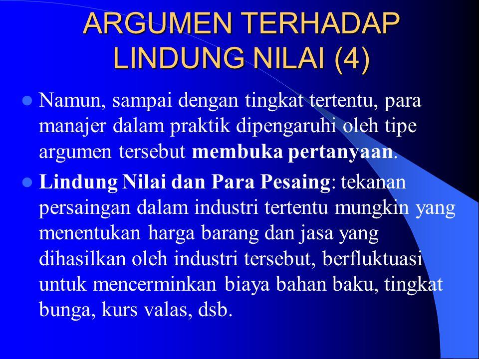 ARGUMEN TERHADAP LINDUNG NILAI (4)