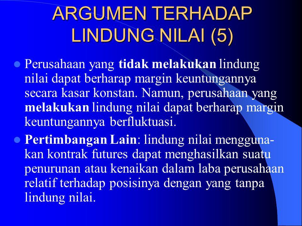 ARGUMEN TERHADAP LINDUNG NILAI (5)