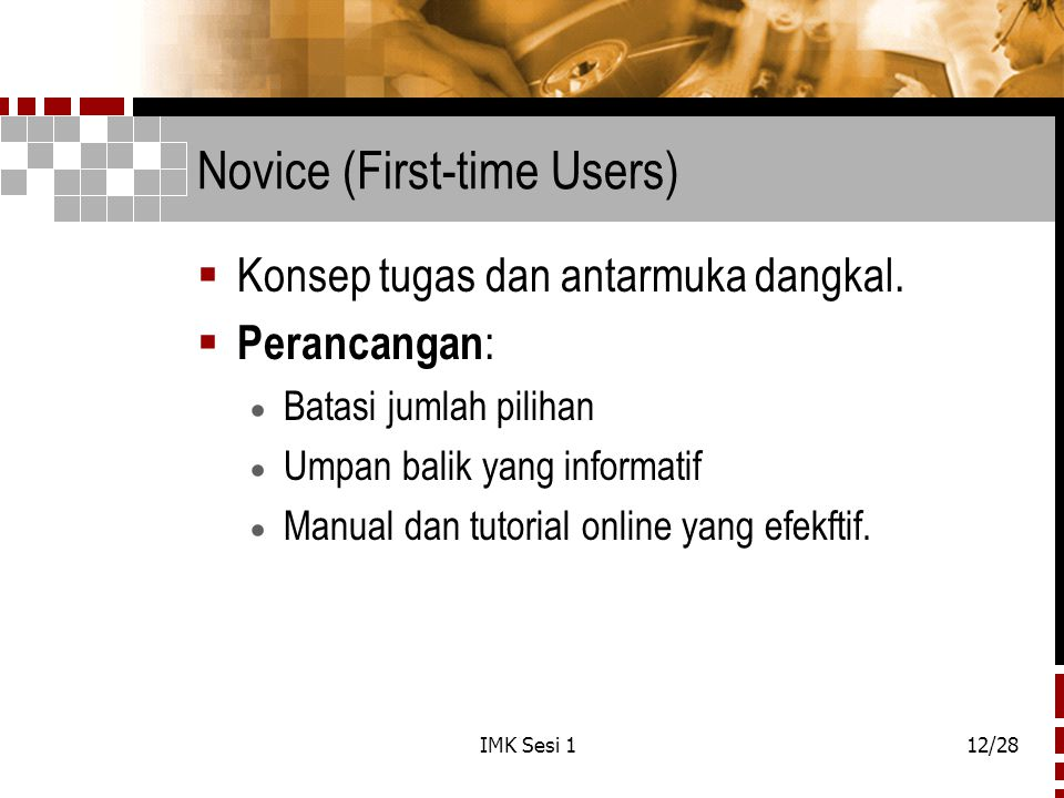 Novice (First-time Users)