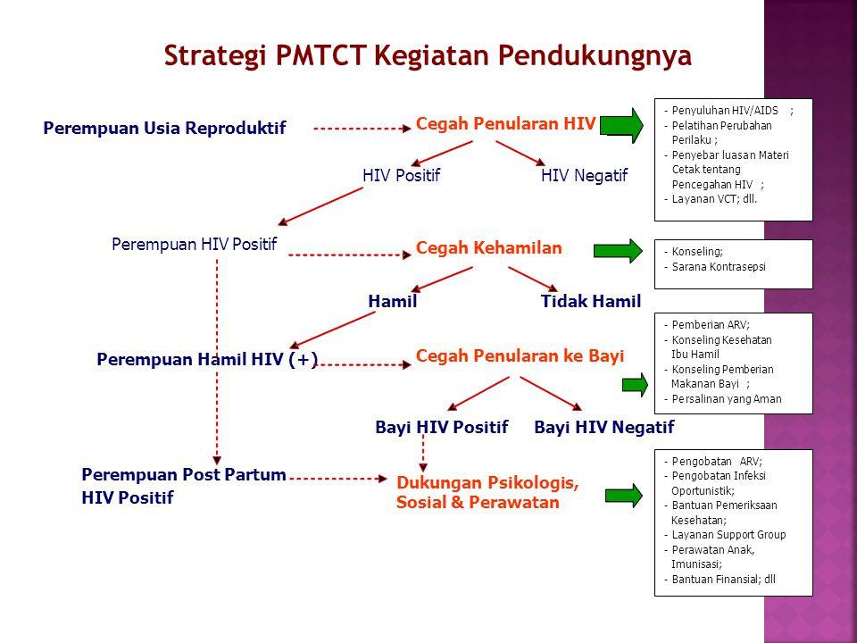 Strategi PMTCT Kegiatan Pendukungnya