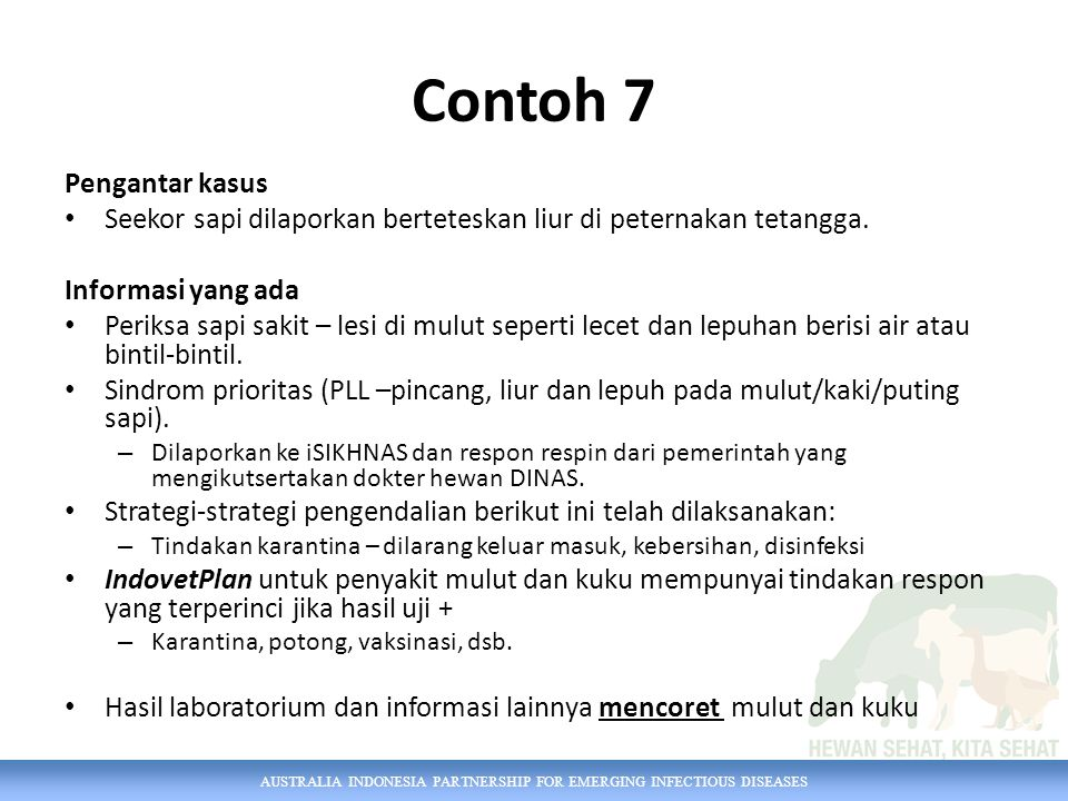Contoh 7 Pengantar kasus