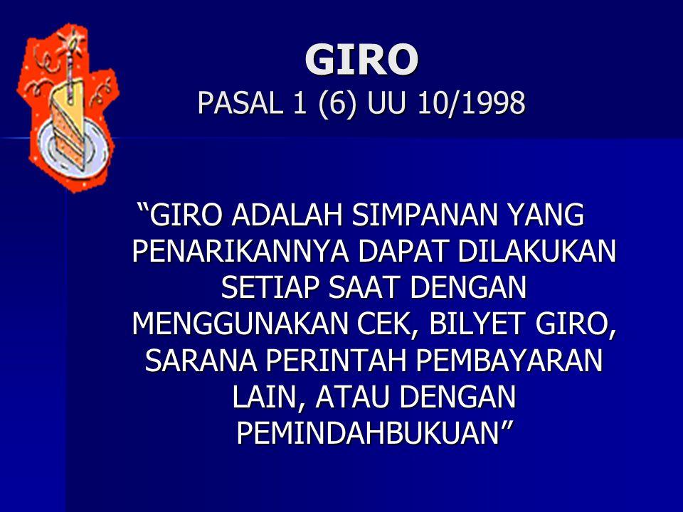 GIRO PASAL 1 (6) UU 10/1998