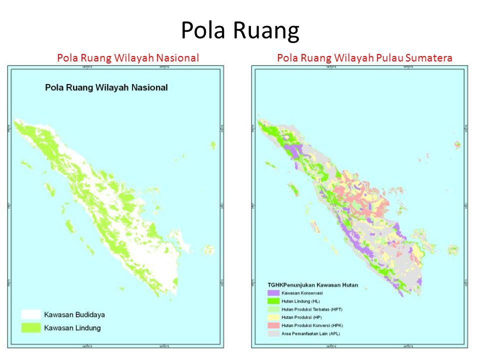 Pola Ruang Pola Ruang Wilayah Nasional