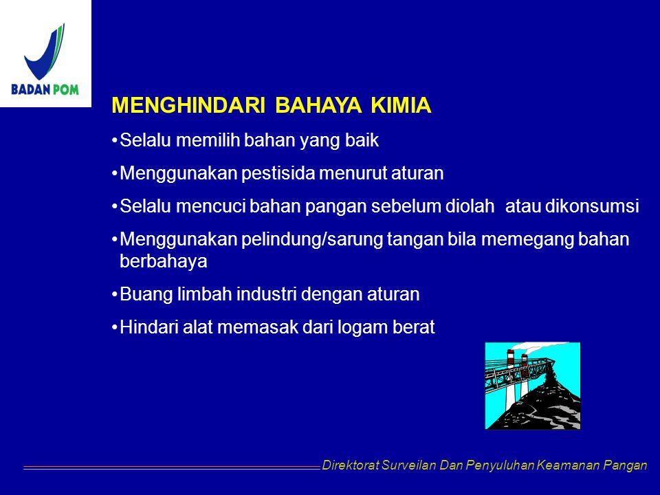 MENGHINDARI BAHAYA KIMIA
