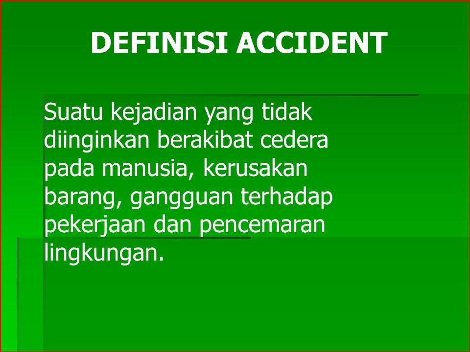 DEFINISI ACCIDENT