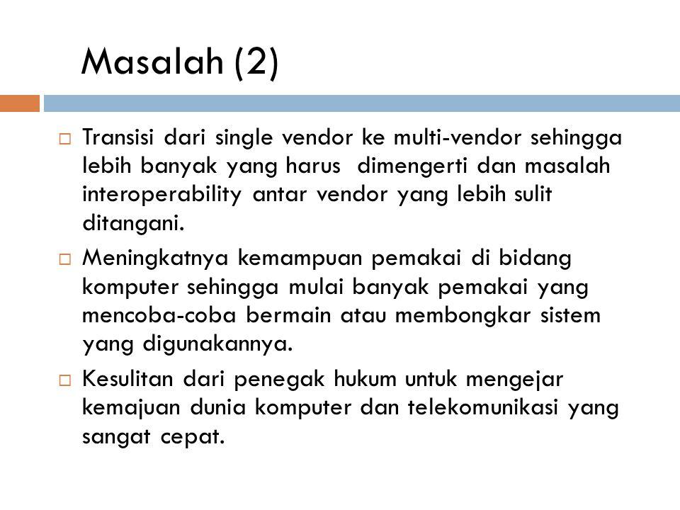 Masalah (2)