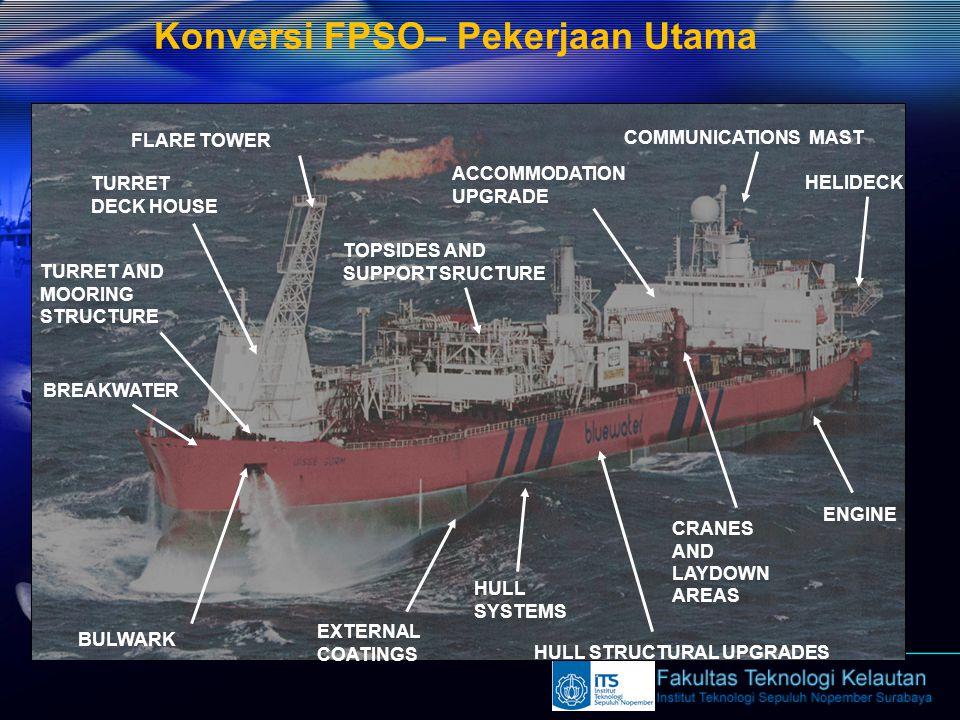 Konversi FPSO– Pekerjaan Utama