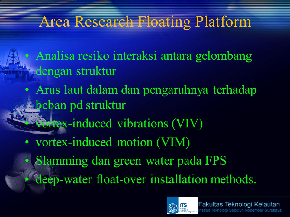 Area Research Floating Platform