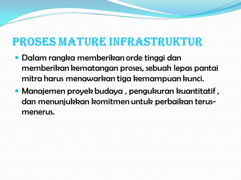 Proses Mature Infrastruktur