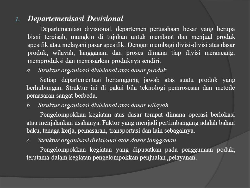 Departemenisasi Devisional