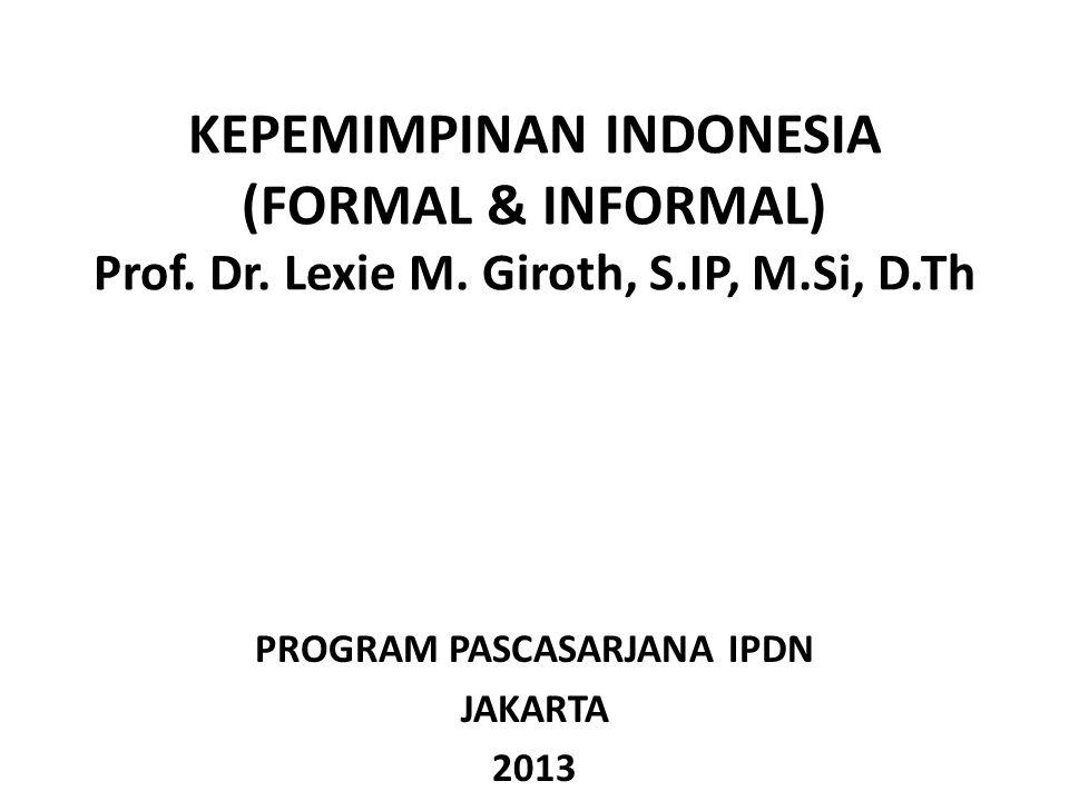 PROGRAM PASCASARJANA IPDN JAKARTA 2013