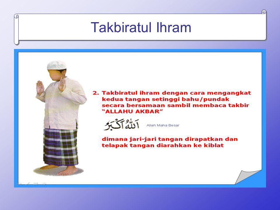 Takbiratul Ihram