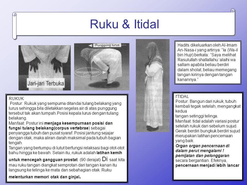 Ruku & Itidal