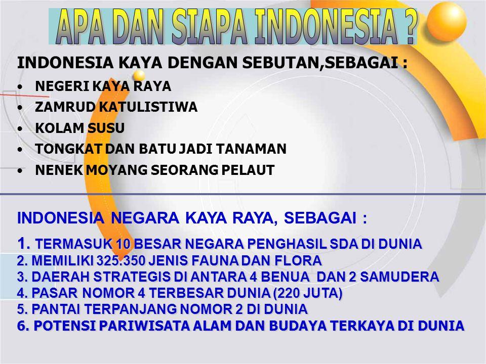APA DAN SIAPA INDONESIA