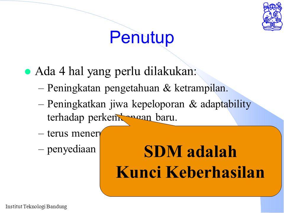 SDM adalah Kunci Keberhasilan