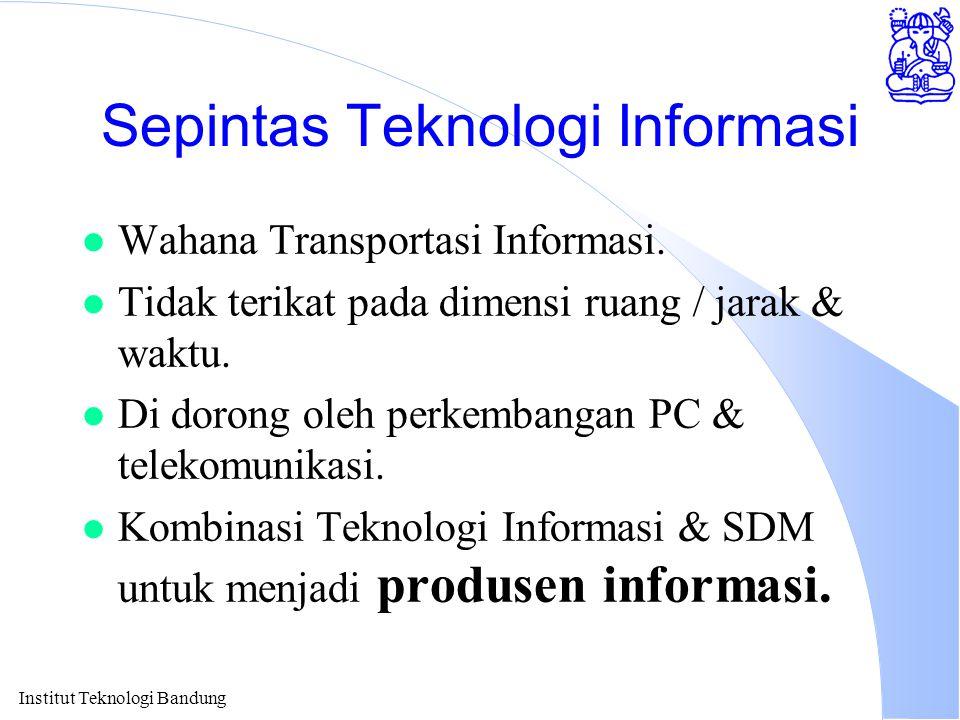 Sepintas Teknologi Informasi