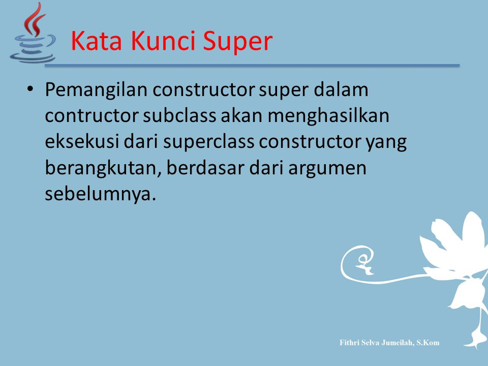 Kata Kunci Super