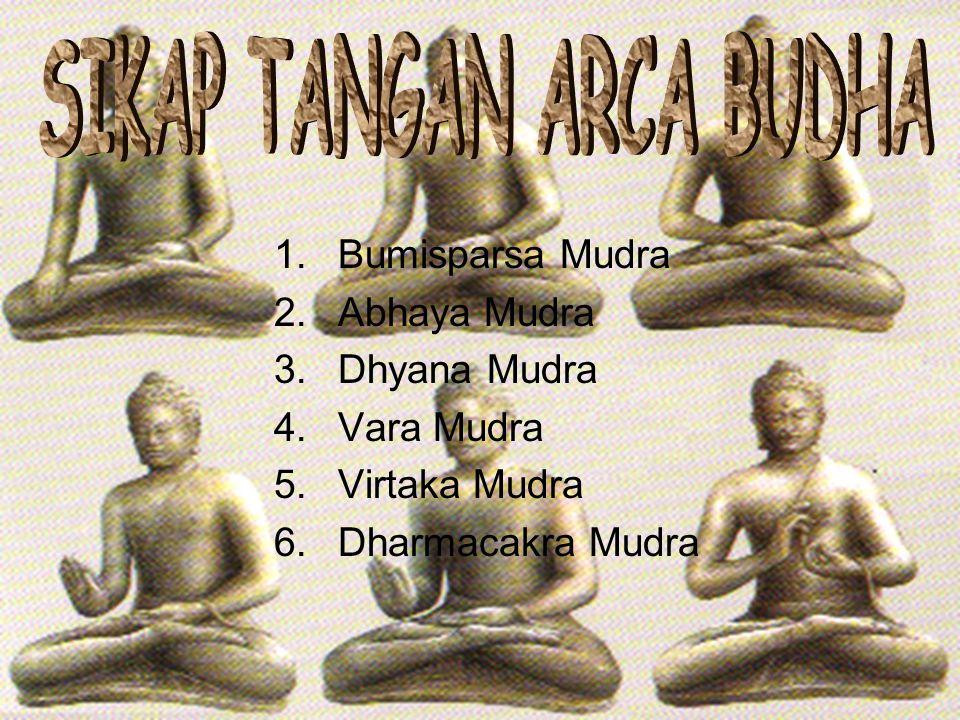 SIKAP TANGAN ARCA BUDHA