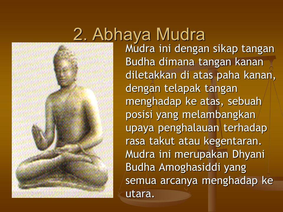 2. Abhaya Mudra