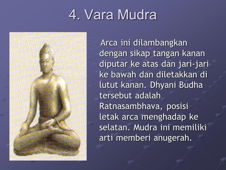 4. Vara Mudra