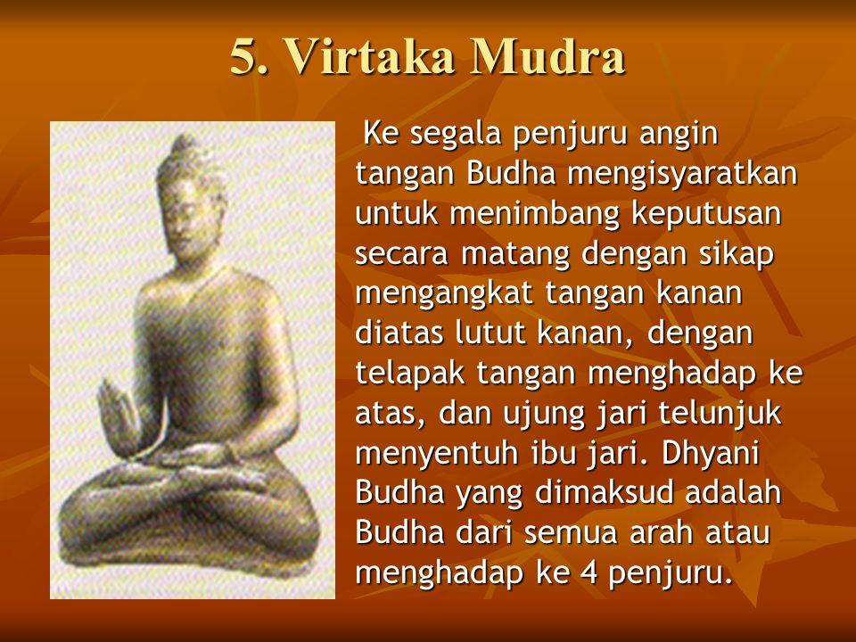 5. Virtaka Mudra