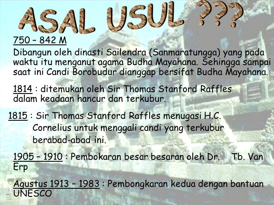 ASAL USUL 750 – 842 M.