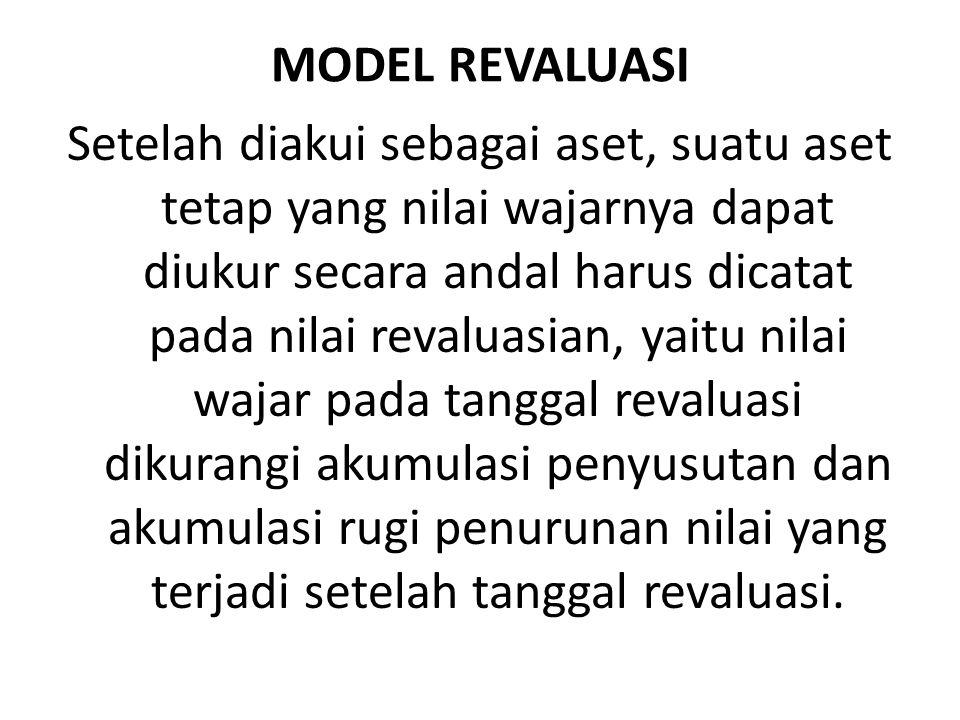 MODEL REVALUASI