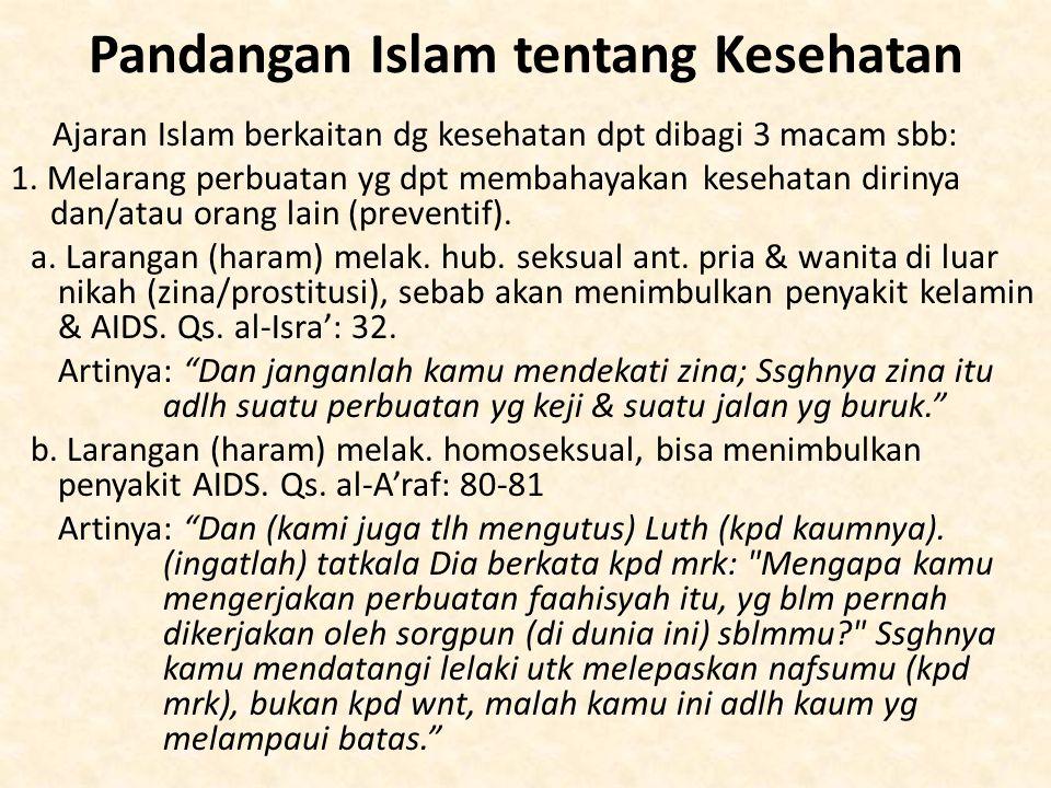Pandangan Islam tentang Kesehatan